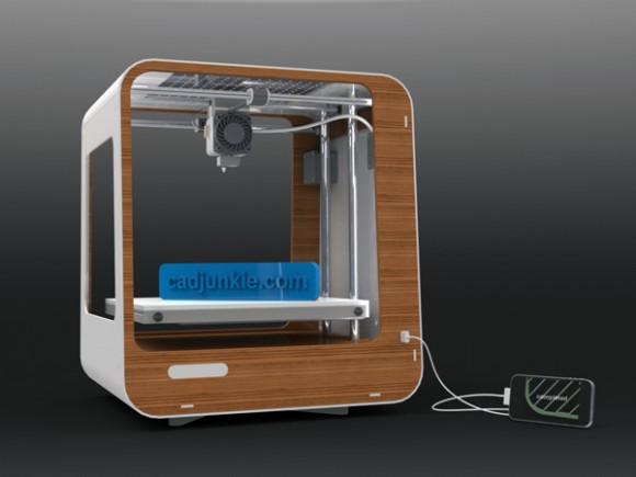Domestic 3D Printing, designer André Dettler