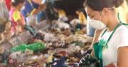 A onda do saco plástico