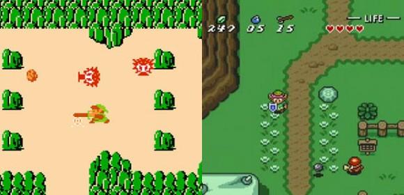 Zelda 8bit e Zelda 16 bit