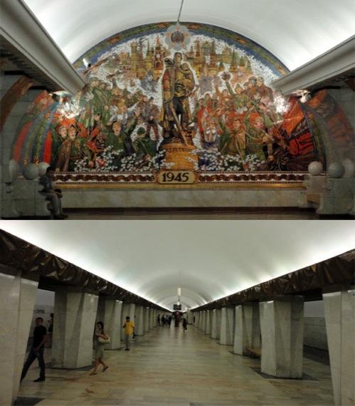 Figura 05: Estações mais famosas do metrô de Moscou