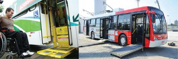 Adaptação de transporte público para todos os tipos de usuários