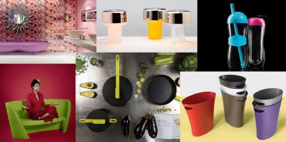 Alguns produtos criados pelo designer.