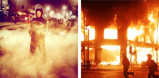 Os protestos de 2011 em Londres foram amplamente divulgados no Instagram.