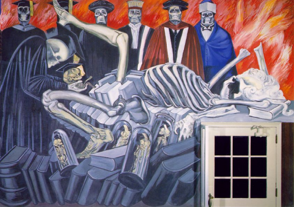 José Clemente Orozco - Gods of the Modern World - The Epic of American Civilization (1926)