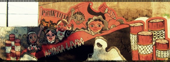 Coletivo Muralha Rubro Negra - Mural em Porto Alegre, Brasil
