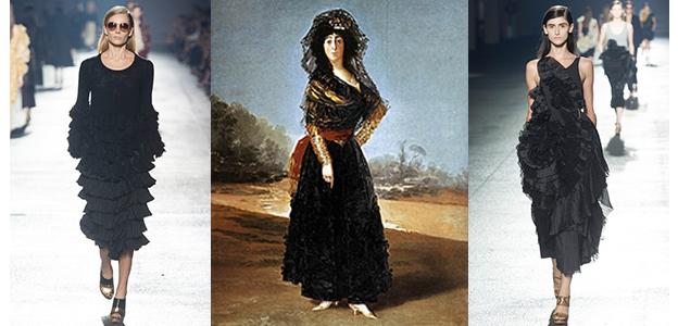 Dries Van Noten, 2014  -  Goya