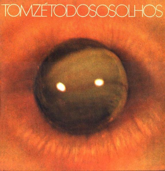 Capa do disco 'Todos Os Olhos', de Tom Zé