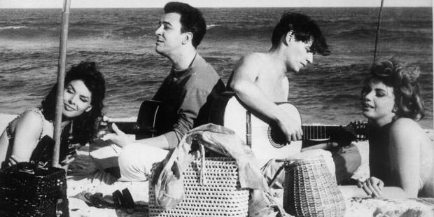 João Gilberto e Tom, símbolos da Bossa.