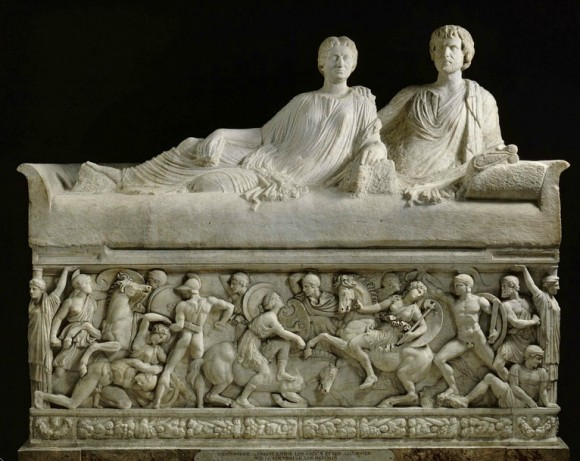 Sarcophagus - Battle Between the Greeks and the Amazons