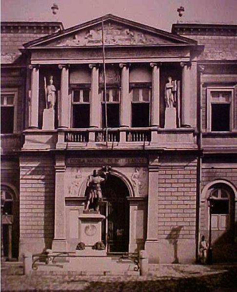 Academia Imperial de Belas artes, Rio de Janeiro, 1891