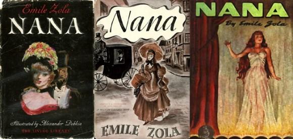 """Émile Zola – Novelle """"Nana"""", 1880: Zola, percursor do naturalismo na literatura, narra a trajetória de uma prostituta no romance"""