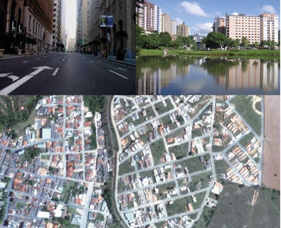 Elementos que compõem uma cidade