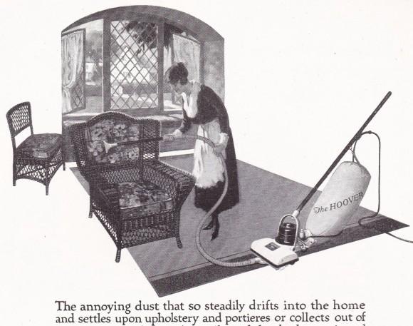 Vintage HOOVER Vacuum  - Ad Advertisement, 1920