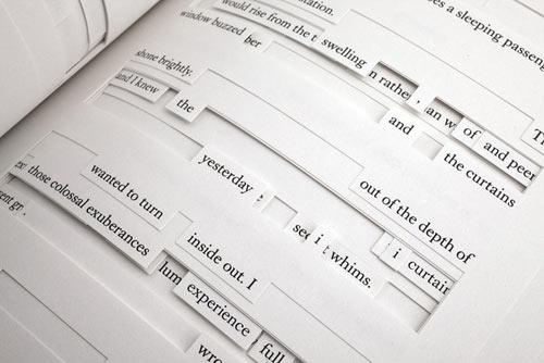 Tree of Codes de Jonathan Safran Foer propõe uma debate sobre o espaço do livro, sua narrativa e o modo como lemos histórias. Feito a partir do recorte do conto Street of Crocodiles de Bruno Schulz, Tree of Codes é uma história formada a partir dos recortes nas páginas do livro.