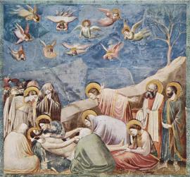 A Lamentação de Cristo - Giotto di Bondone - 1303 a 1305