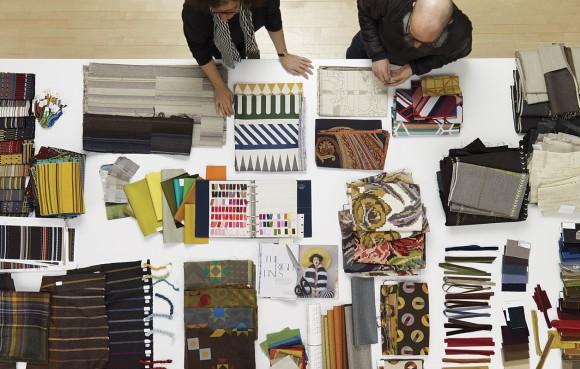 Maharam, tecidos e designers