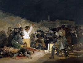 Três de Maio de 1808 - Francisco de Goya - 1814