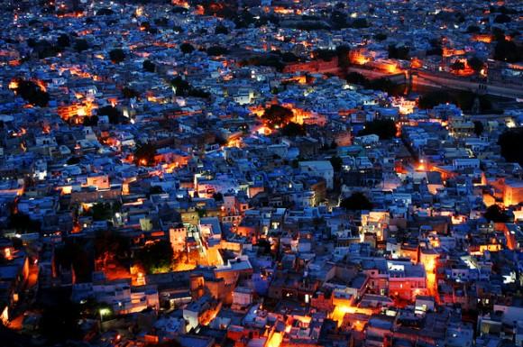 Jodhpur, a cidade azul