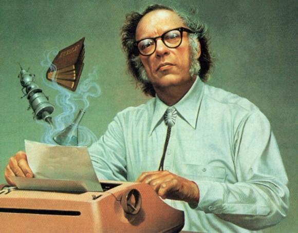 Isaac Asimov (1920 —  1992) foi um escritor e bioquímico americano.  Praticamente um visionário em seu tempo, Asimov via na tecnologia uma poderosa aliada do homem, tornando a relação entre homem e máquina o principal tema de sua obra literária.