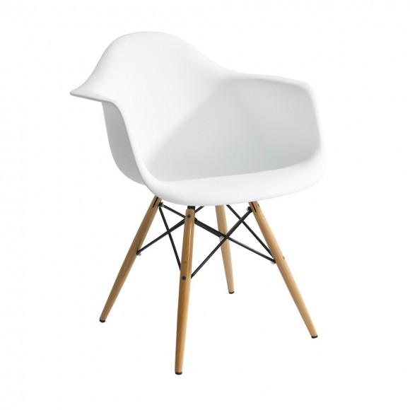 Ícone do design e praticamente um símbolo do design internacional em que prezava-se a usabilidade e a acessibilidade: Eames Chair