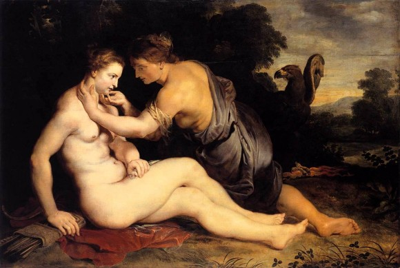 Calisto e Júpiter