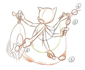 Exemplo de Movimento em Arco (CÀMARA, 2005, p.143)