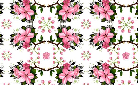 Estampa Apple Blossoms