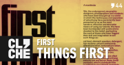 Clichecast#44 - First things first